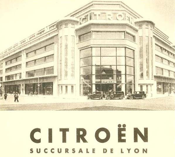 Citroën a Lyon