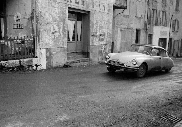 Gennaio 1956 – la DS al Rallye di Monte-Carlo